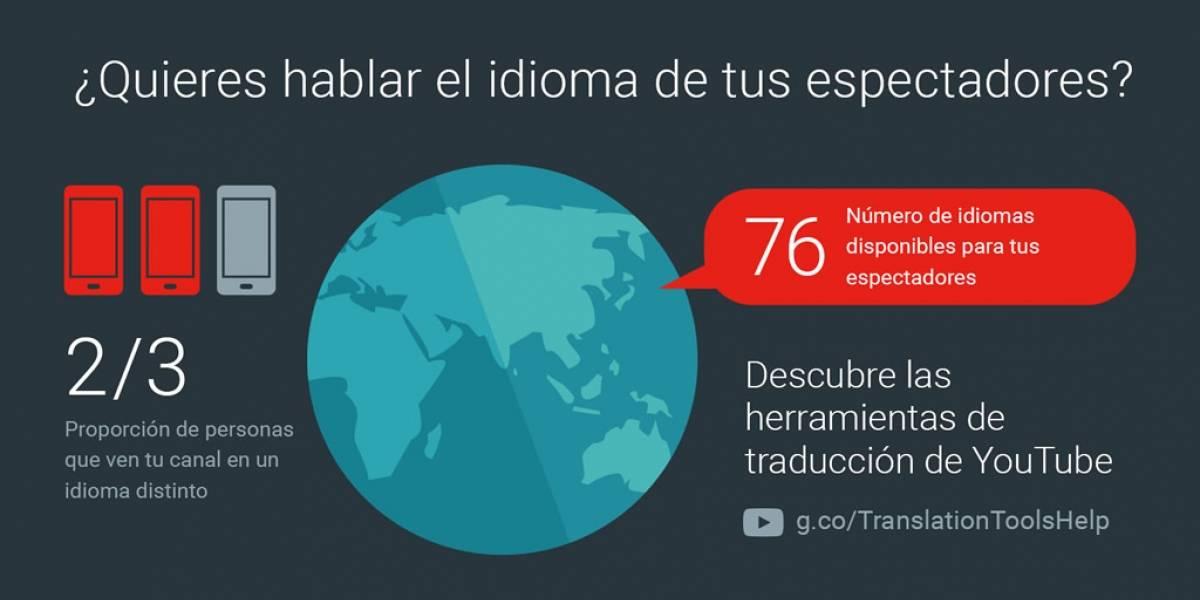 Google anuncia nuevas herramientas de traducción para YouTube