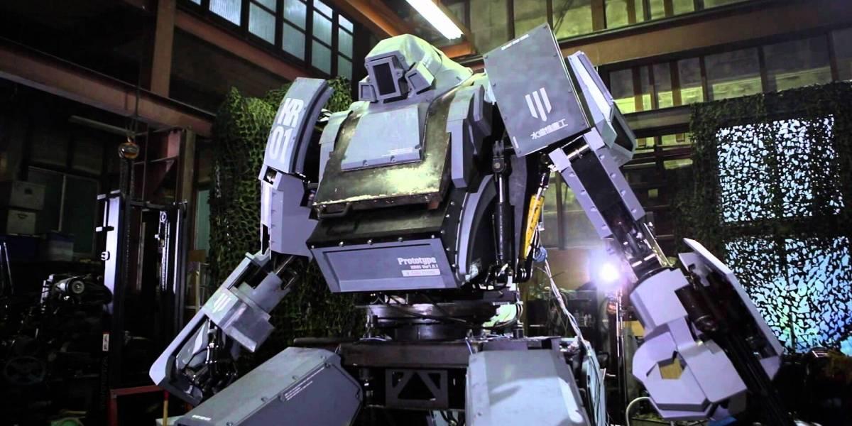Japoneses y estadounidenses se enfrentarán a duelo con robots gigantes