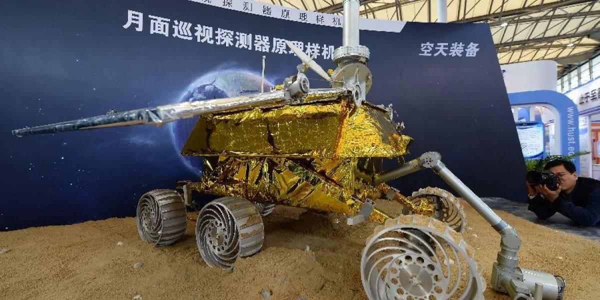 """China lanza el robot """"conejo de jade"""" a la Luna"""