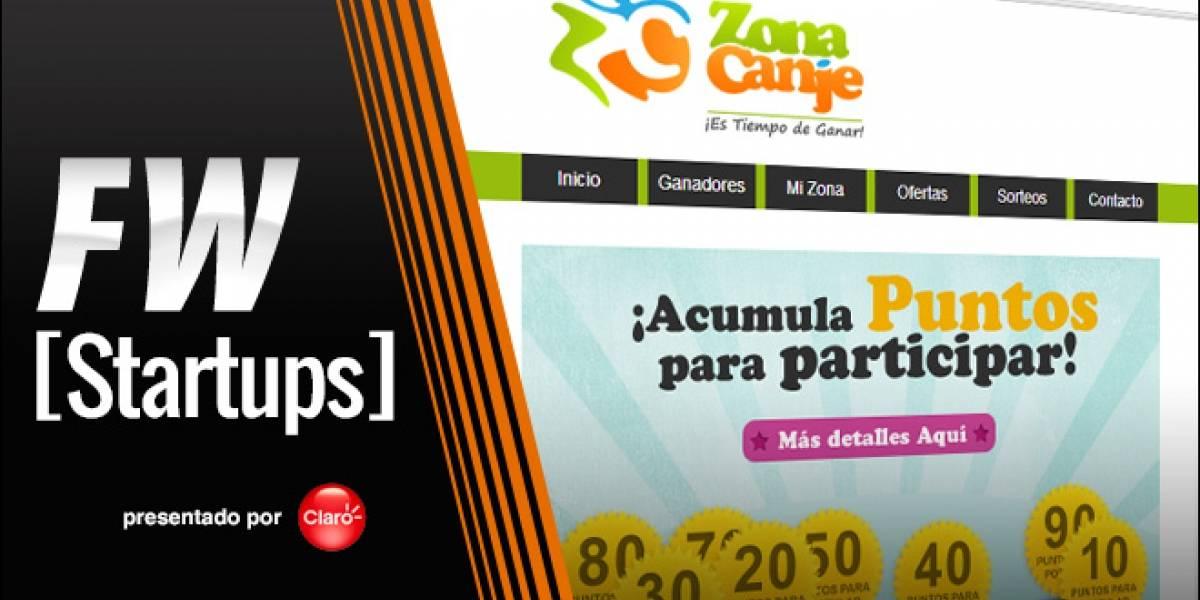 Zona Canje, gana premios por jugar y juntar puntos [FW Startups]