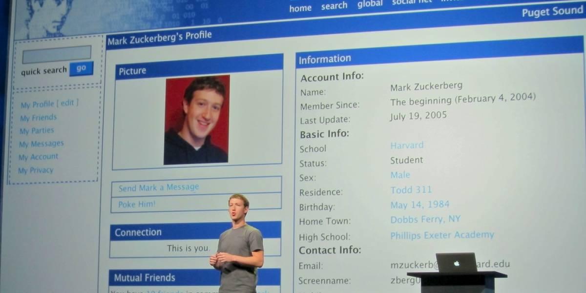 Los cambios de diseño más relevantes de Facebook a lo largo de sus 10 años