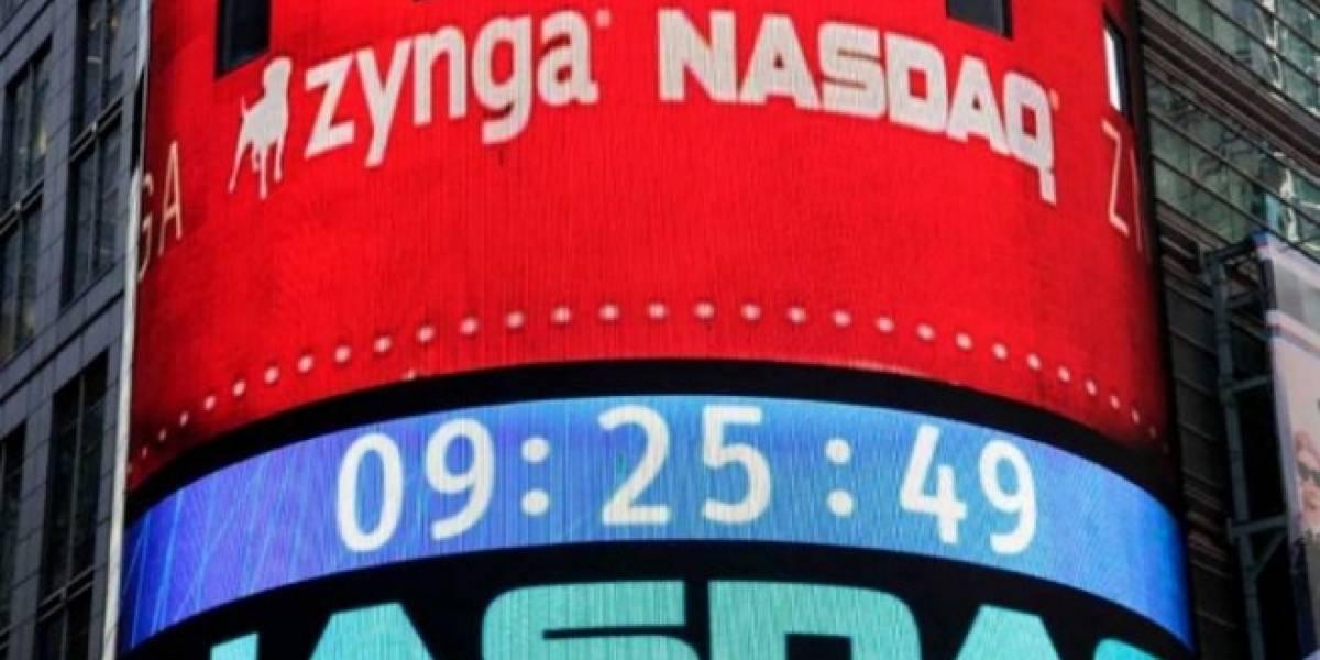 Las acciones de Zynga se desplomaron con la salida de Facebook a la bolsa