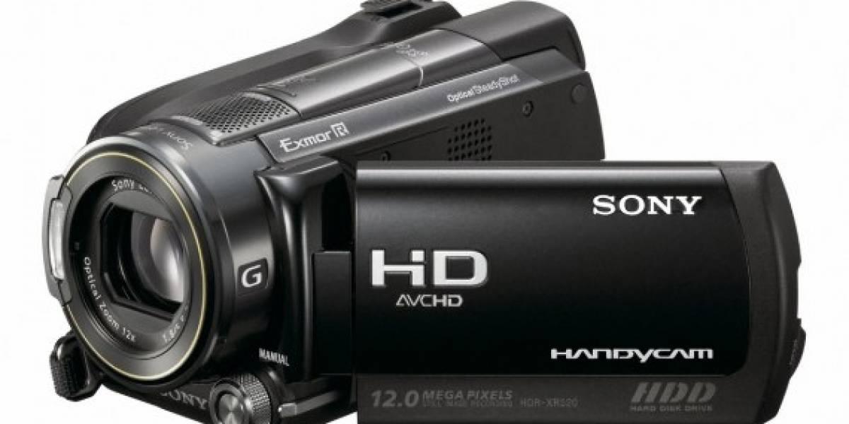 CES09: Sony lanza sus nuevos modelos Handycam de alta definición