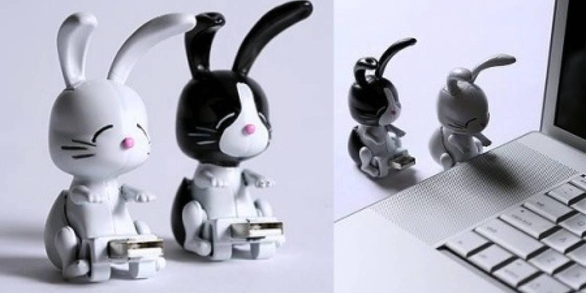 """Conejos USB le hacen """"cariño"""" a tu computador"""