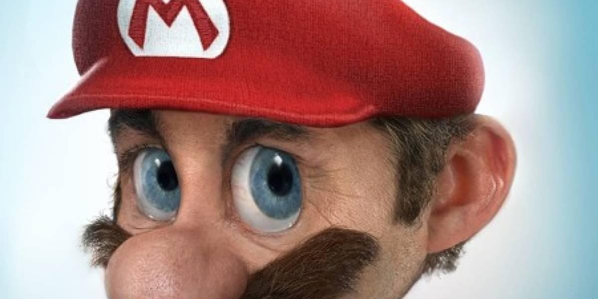 Si Mario fuese humano...
