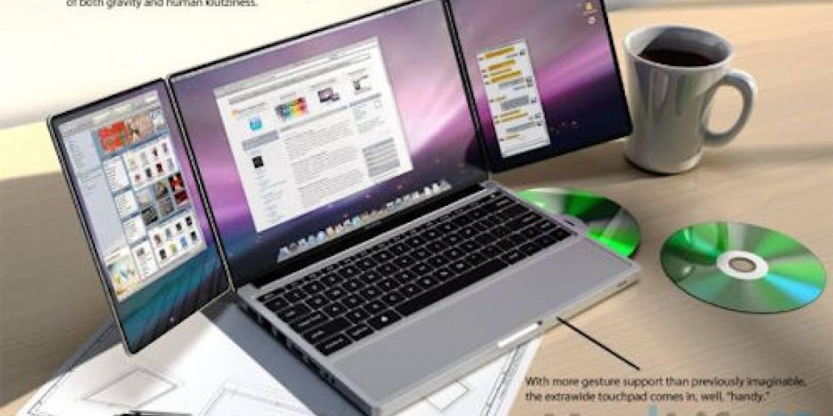 Futurología: Apple TriBook, un portátil que simplemente las tiene todas