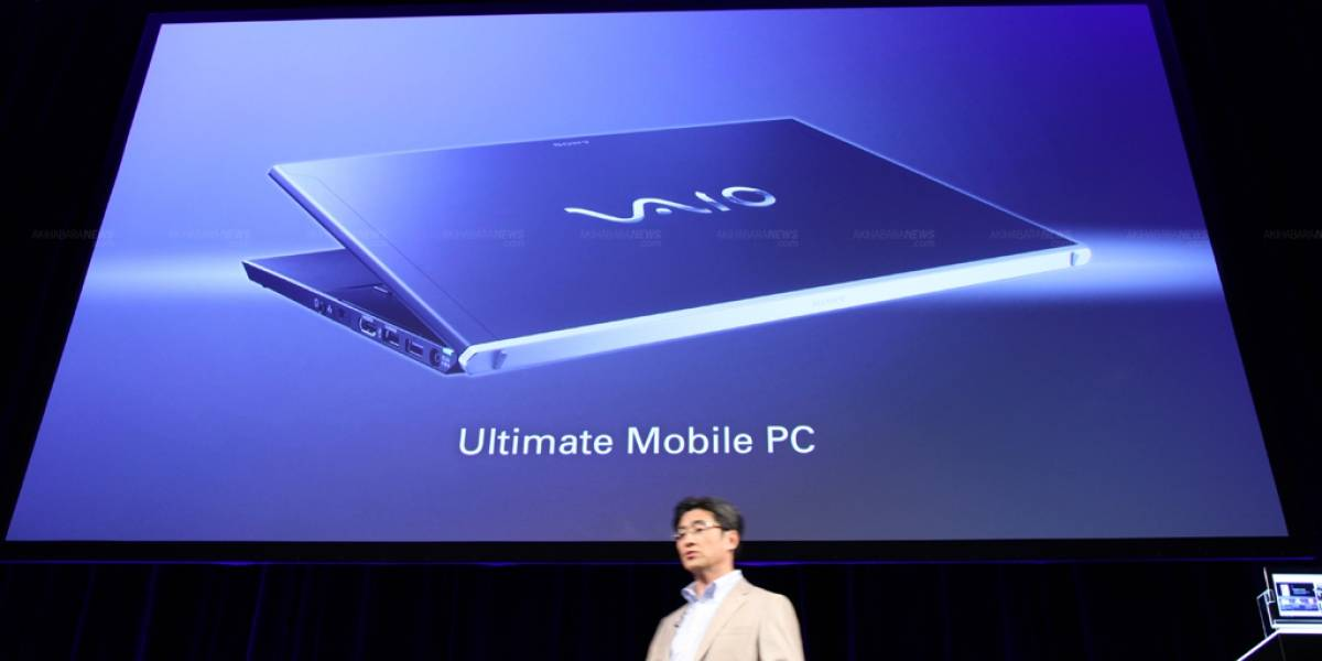 Sony adelanta el Ultimate Mobile PC y Freestyle Hybrid PC