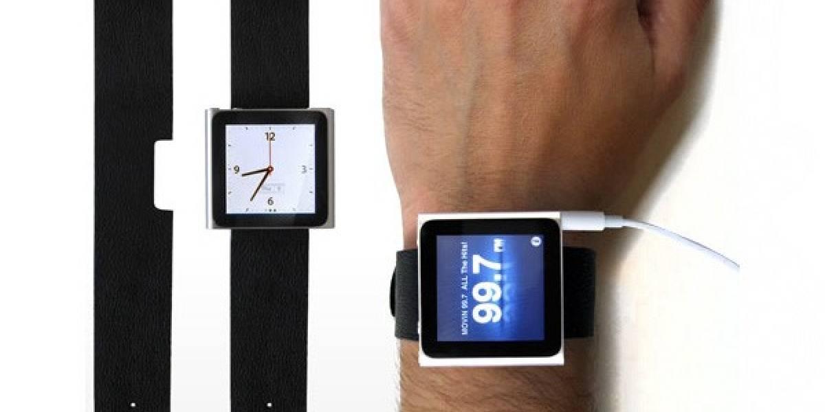 Era cosa de tiempo: venden correa para convertir un iPod Nano en un reloj