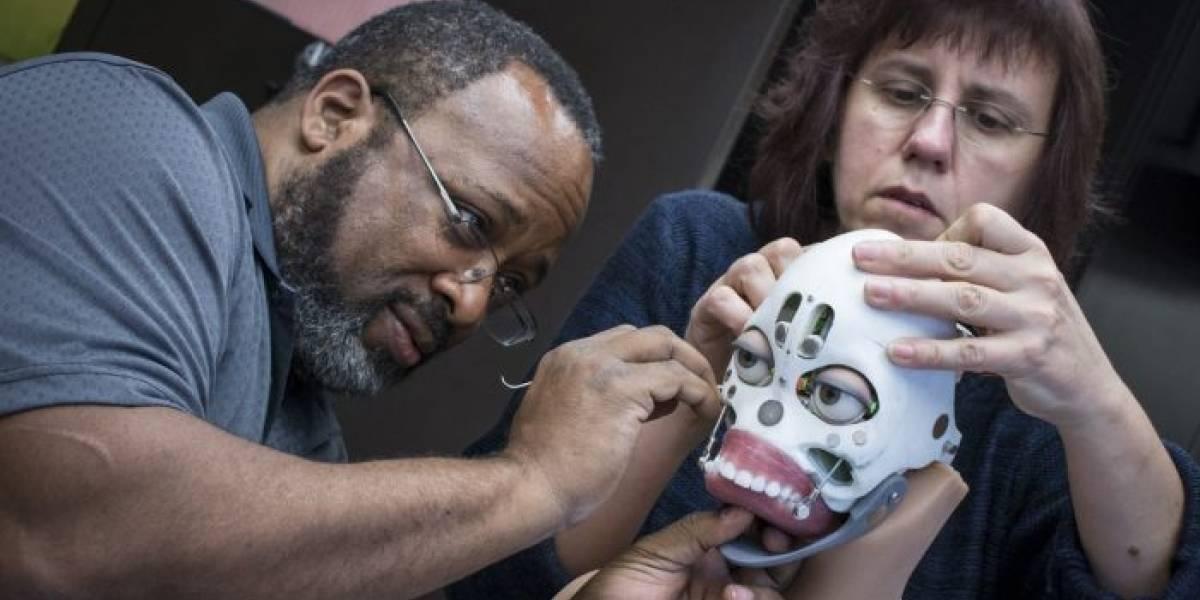 A esta muñeca sexual robótica le puedes intercambiar el rostro