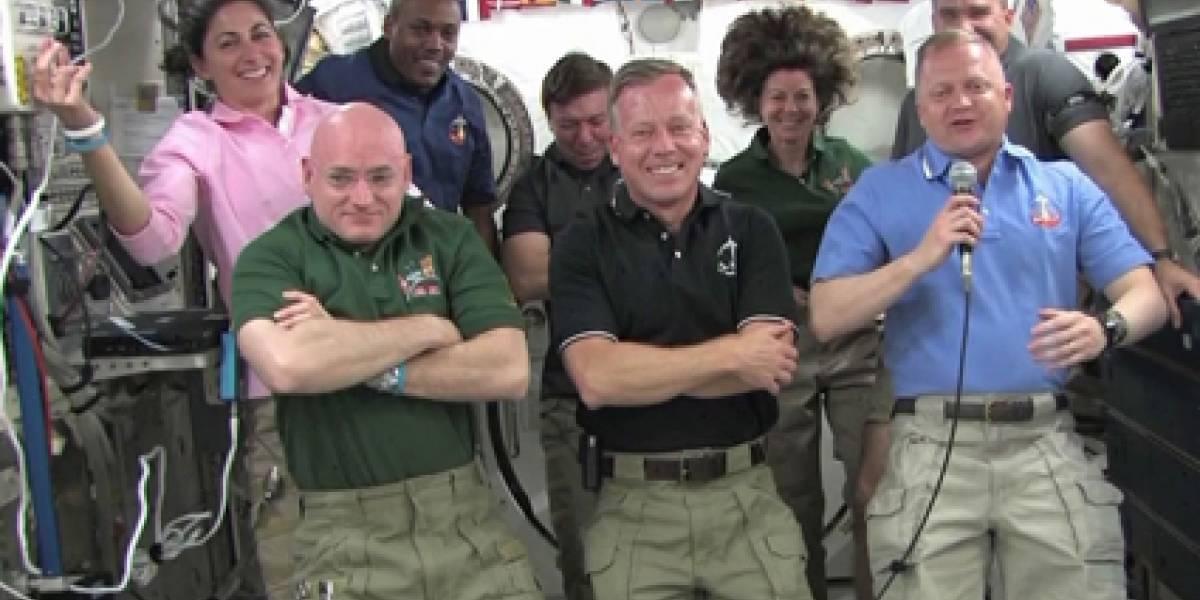 El Discovery se acopla por última vez con la Estación Espacial Internacional