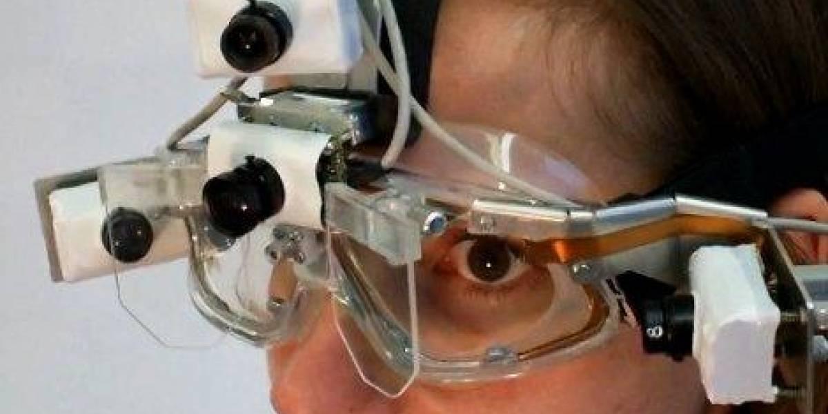 Nuevos lentes capturan todo lo que estás mirando