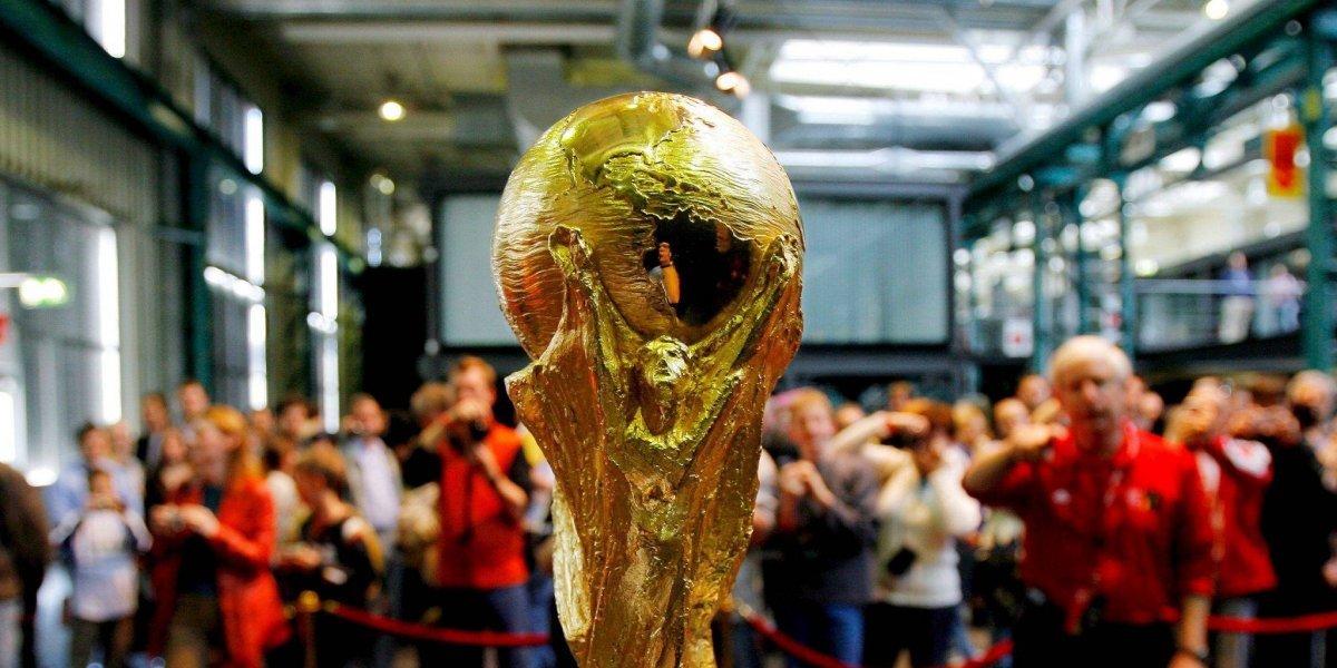 El trofeo de la Copa del Mundo pasará por Colombia, camino a Moscú