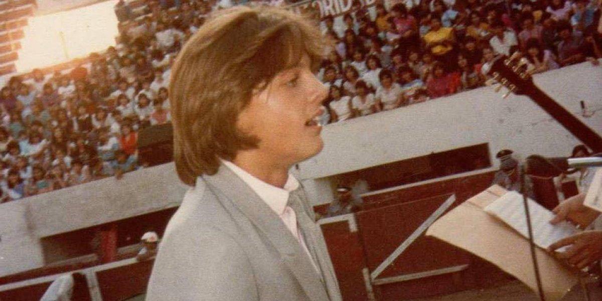 Aparecen imágenes de Luis Miguel a inicios de su carrera