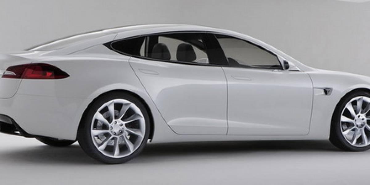 Tesla da a conocer su nuevo auto eléctrico Tesla S