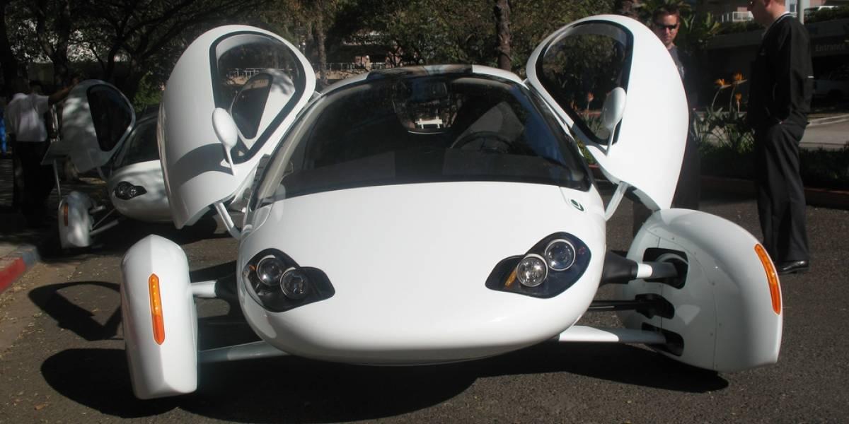Fotos espía del auto híbrido Aptera 2E plug-in