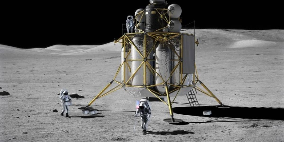 La NASA no establecería una base en la Luna