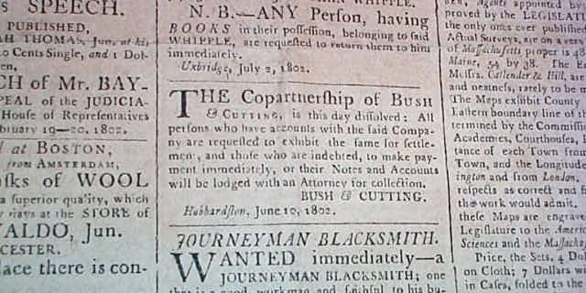 El archivo de periódicos de la Biblioteca británica digitalizará diarios de los últimos 300 años