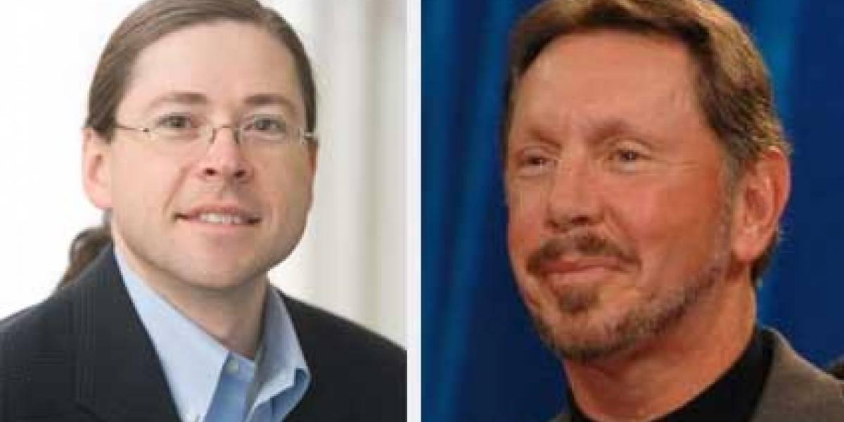 Larry Ellison critica fuertemente a Jonathan Schwartz