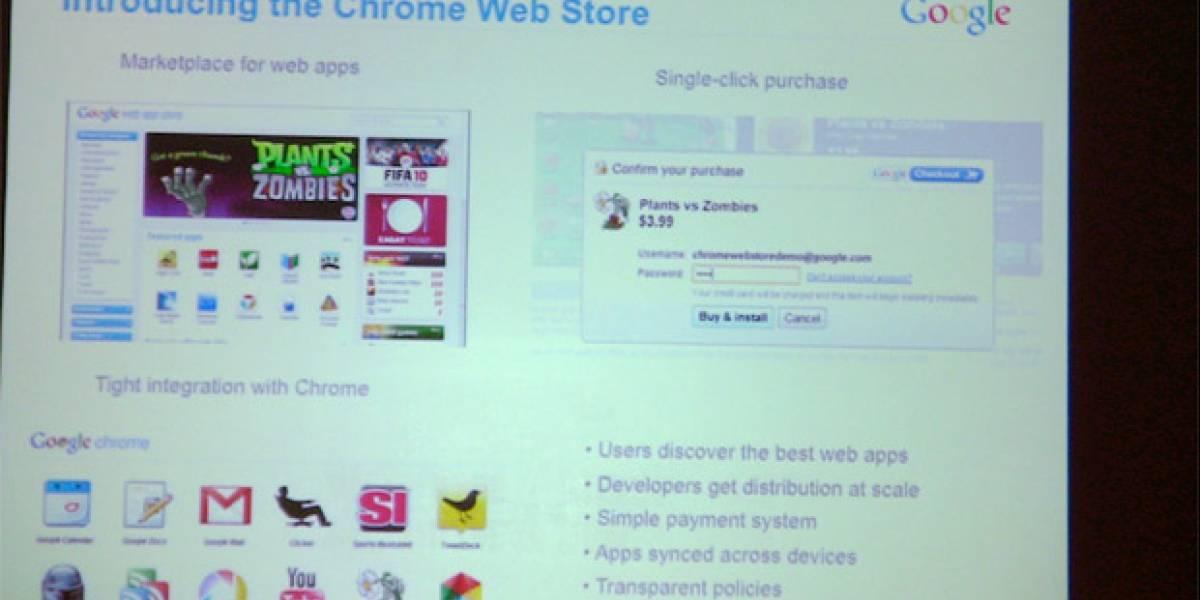La app store de Chrome llegará en octubre