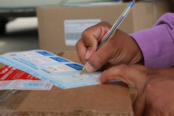 """Cerca de 800 personas sufragarán bajo la modalidad de """"Voto en casa"""""""