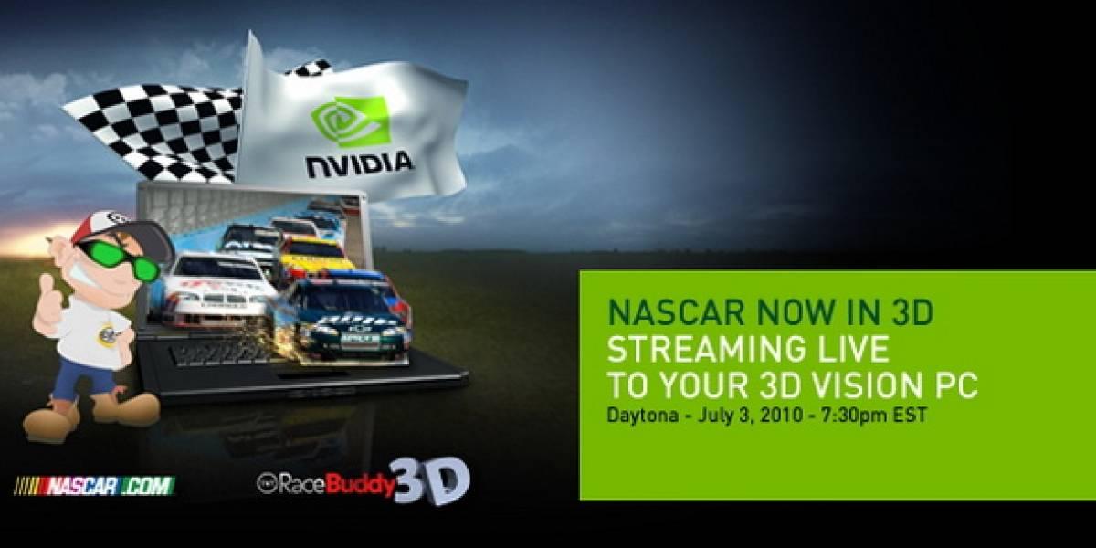 NASCAR Live 3D: Mañana transmisión 3D en vivo desde la Daytona International Speedway