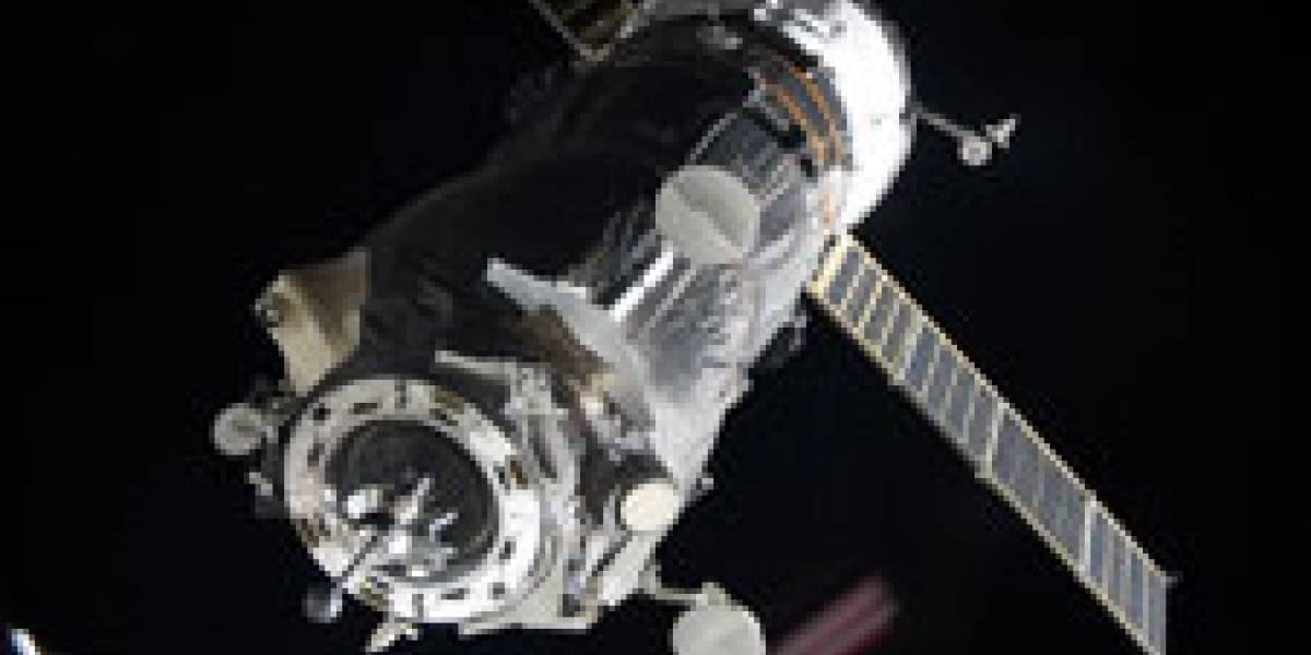 La nave Progress logró acoplarse a la Estación Espacial Internacional