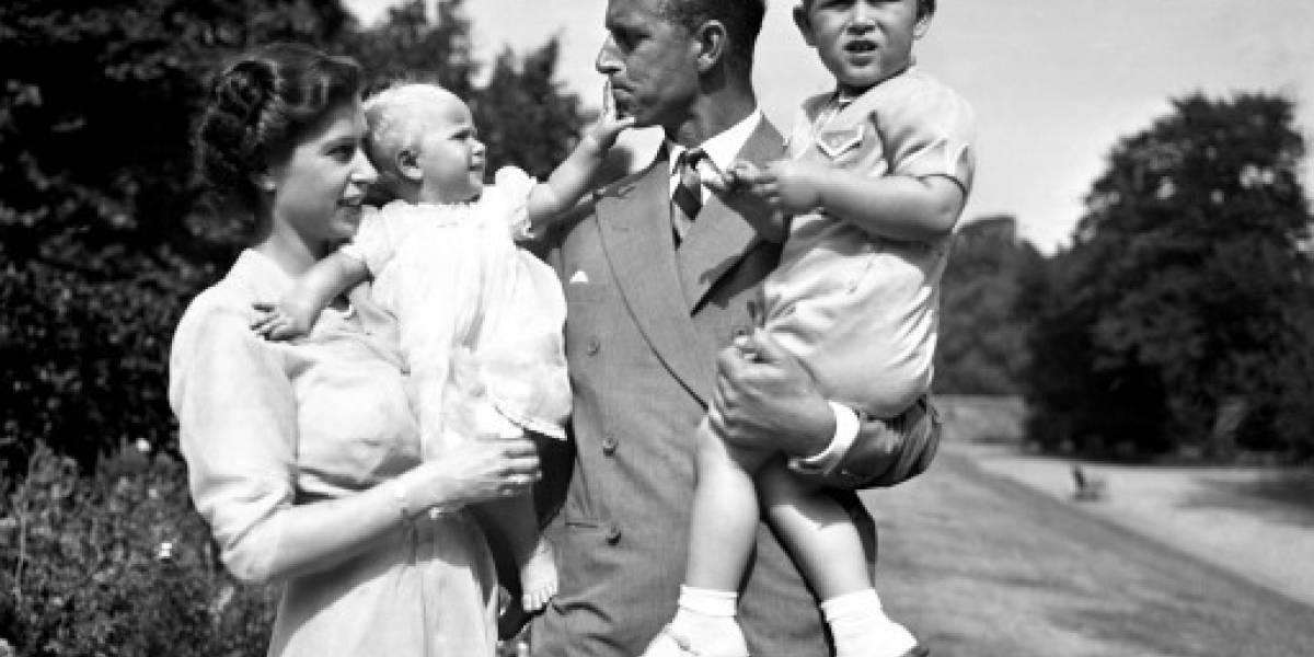 La familia real británica sube sus fotos a Flickr