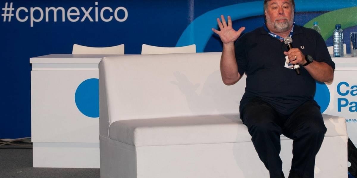 Steve Wozniak le recomienda a México que entrene más ingenieros