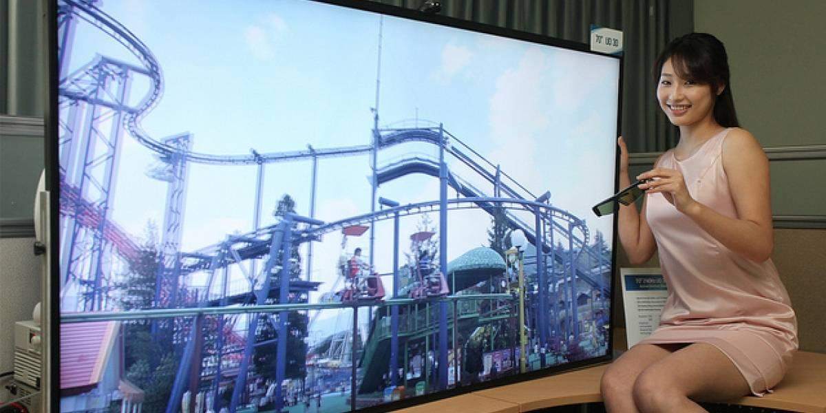 Samsung presenta televisor de 70 pulgadas de Ultra Definición