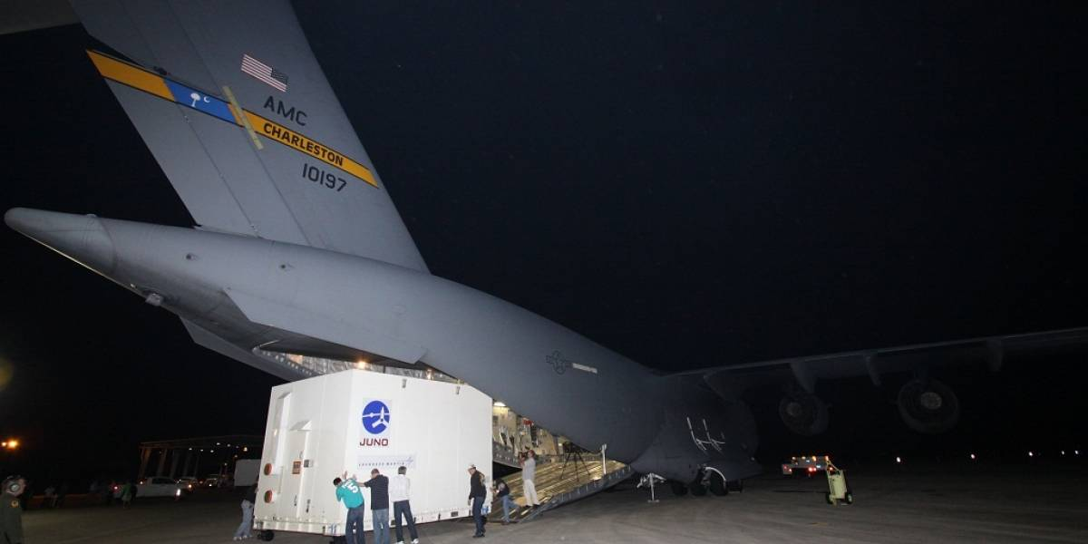 Sonda Juno de la NASA ya se encuentra en Cabo Cañaveral