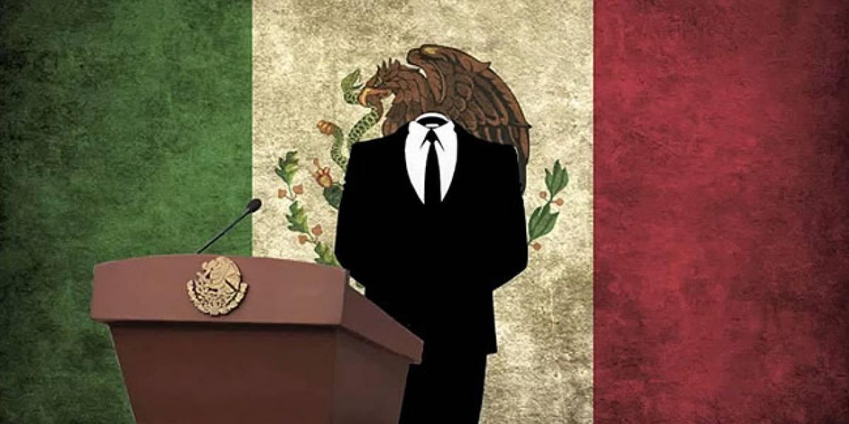 México: Anonymous tira la página de la SEGOB y el Senado como parte de la #OpDoring