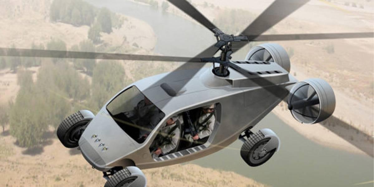 AVX TX: Un nuevo concepto de vehículo todoterreno y helicóptero