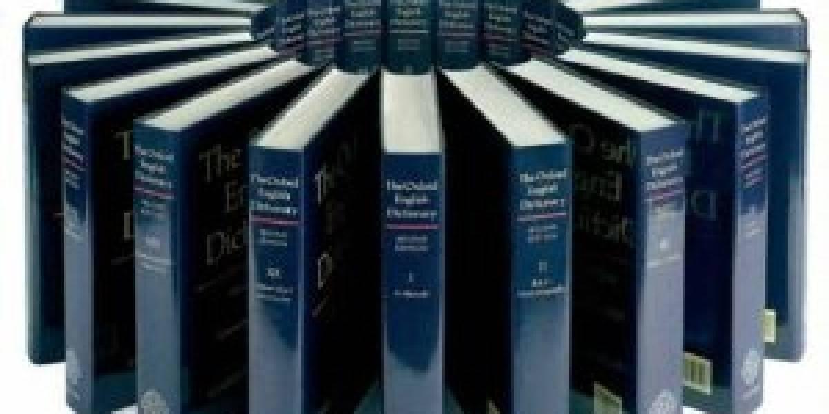 La tercera edición del Diccionario Oxford podría ver la luz solo de manera digital