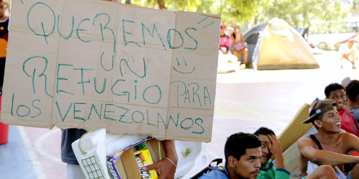 Colombia comienza la deportación de 130 venezolanos que acampaban en Cúcuta