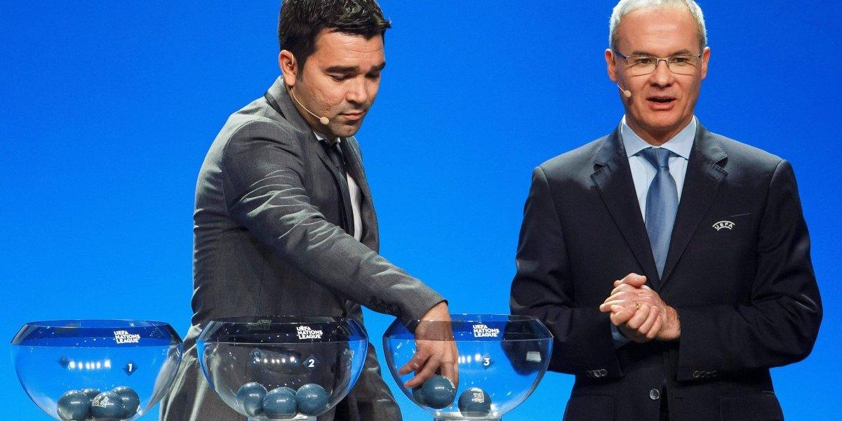 Se sorteó la 'Champions' de selecciones de Europa que arranca tras el Mundial