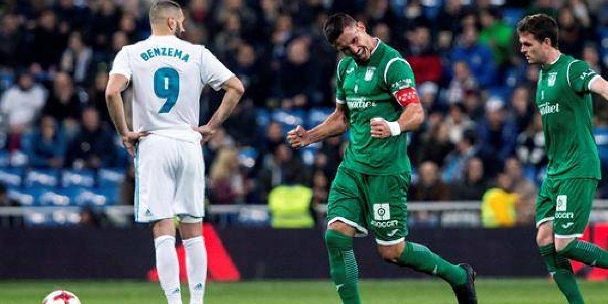El Leganés elimina al Real Madrid y llega a semifinales junto al Valencia
