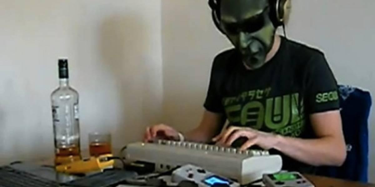 Una remezcla del tema de Alien hecha con un C64