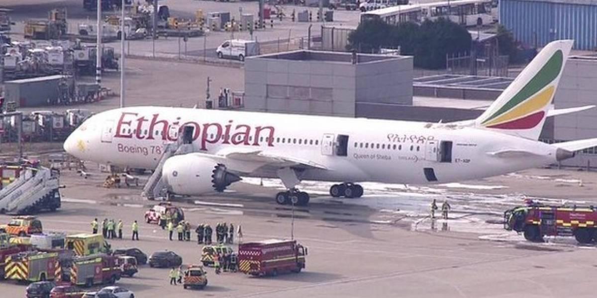 Boeing 787 Dreamliner se vuelve a incendiar en Londres
