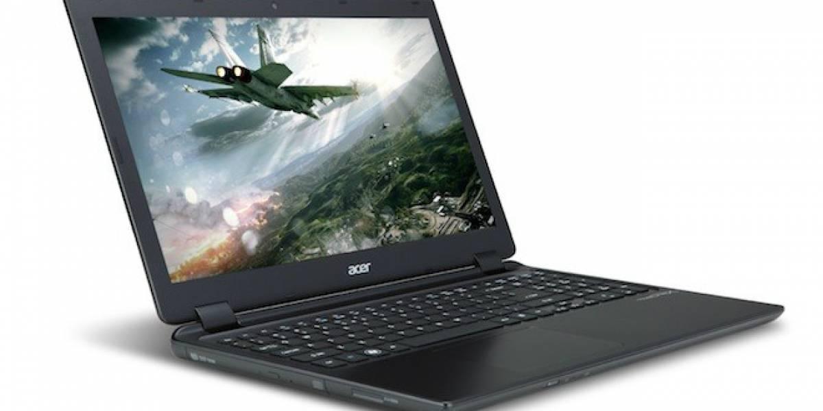 Acer presenta Ultrabook de 15 pulgadas con gráficos NVIDIA Kepler