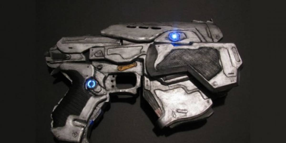 Imperdible: Pistola de Gears of War... ¡De papel!