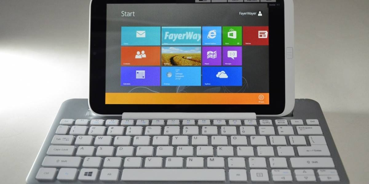 Review Acer Iconia W3 [FW Labs]