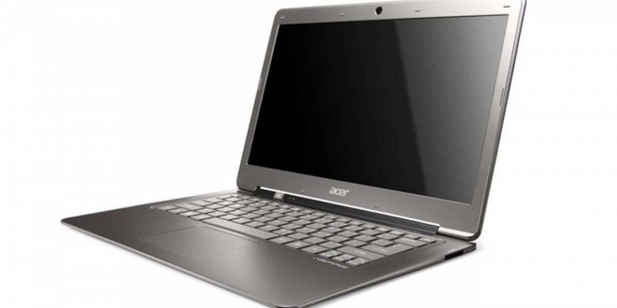 Acer fusionará las divisiones de ultrabooks y notebooks en menos de dos años