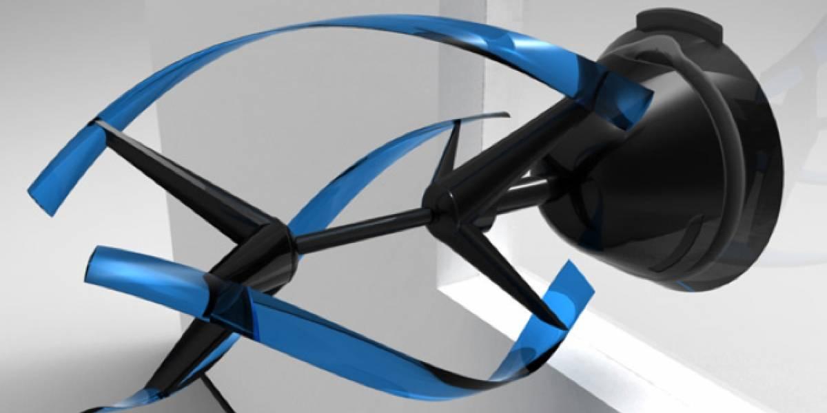 AERO E: un cargador para tus gadgets que funciona con energía eólica