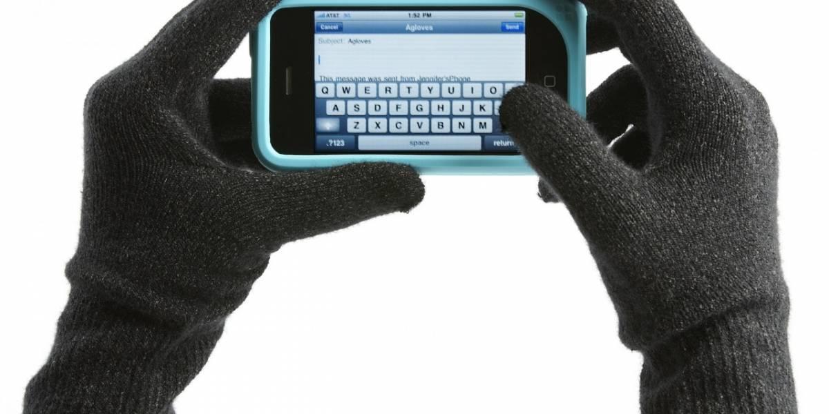 No más guantes sin dedos para poder usar tu touchscreen en invierno