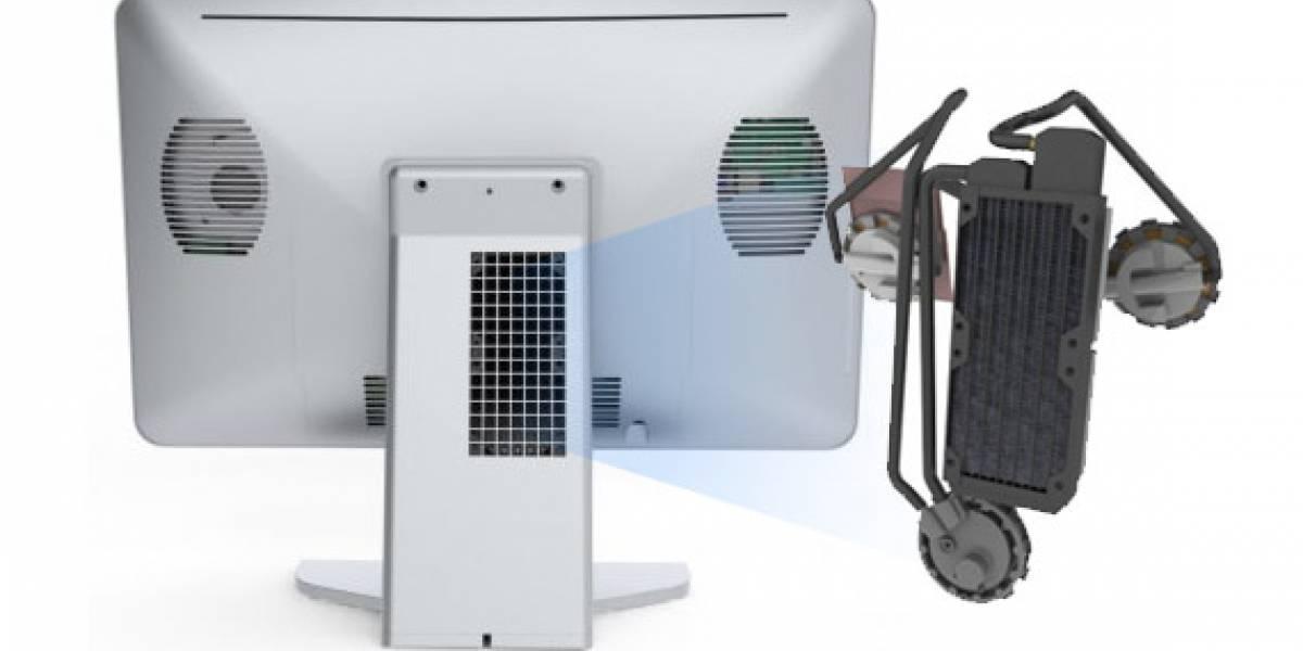 Asetek muestra prototipo de computadora All-In-One con refrigeración líquida