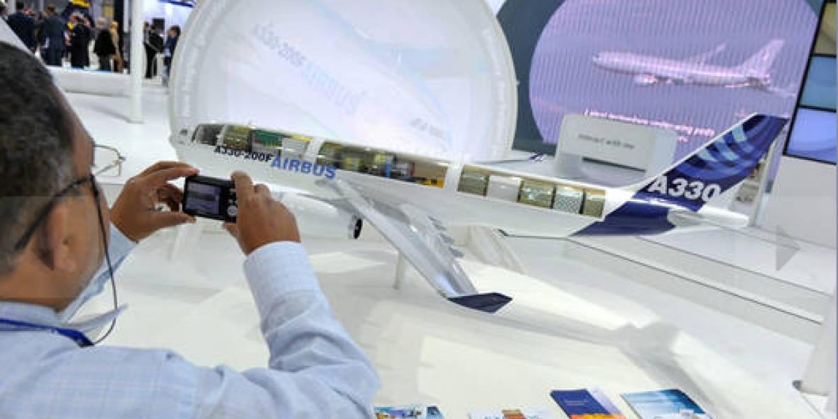 Airbus ofrece aviones transparentes para el 2050