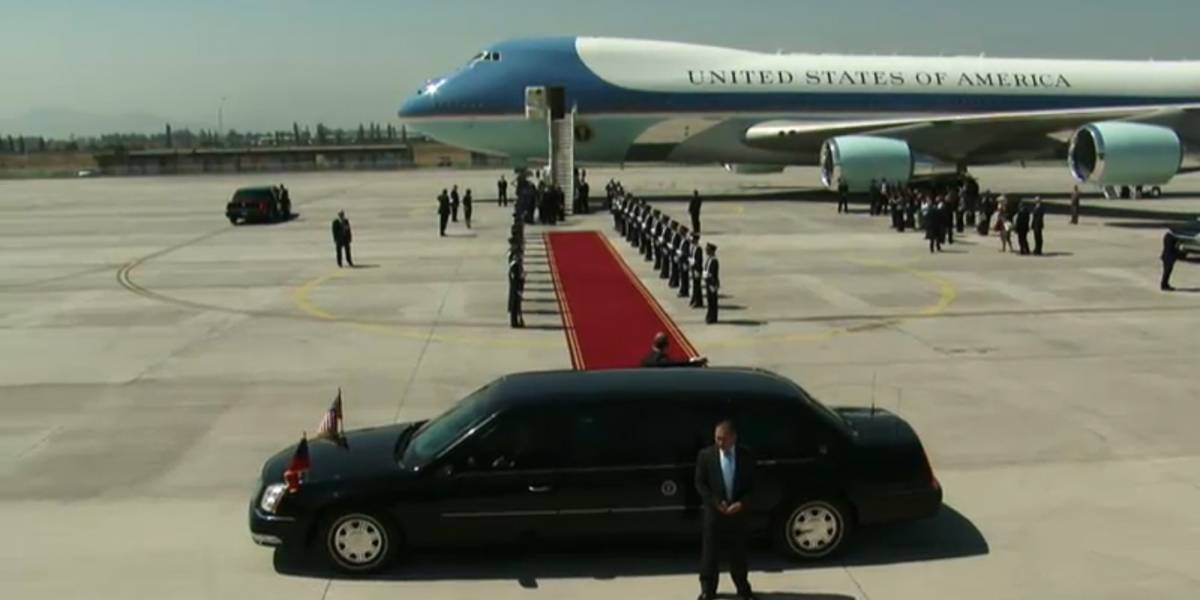 Chile: Sigue la visita de Barack Obama por internet
