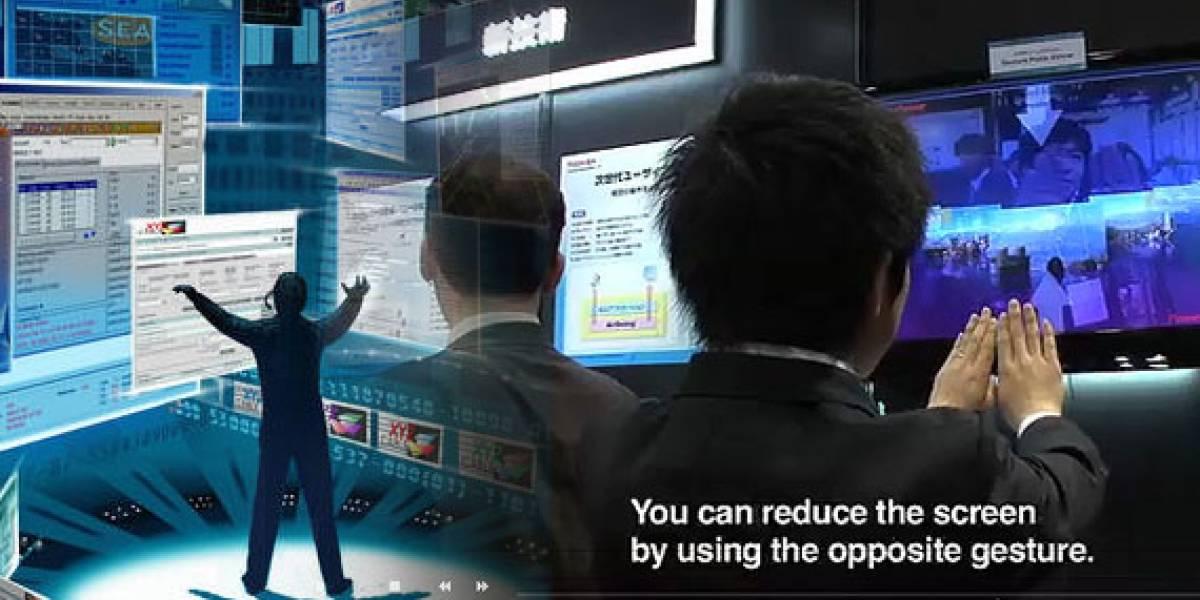 Toshiba AirSwing: Una forma barata de manipular datos al estilo Minority Report