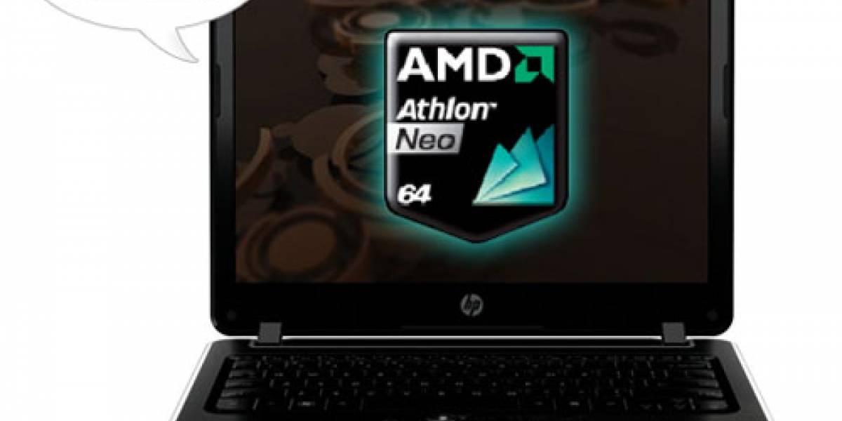 HP Pavilion dv2: la primera ultraportátil con procesador AMD Neo