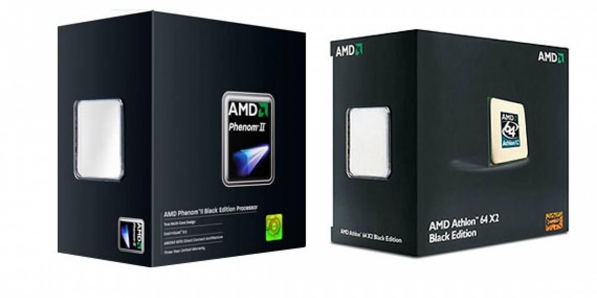 Los nuevos procesadores Black Edition de AMD